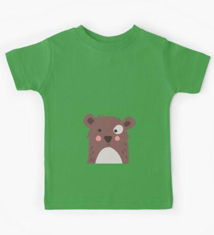 Brown bear Kids Tee