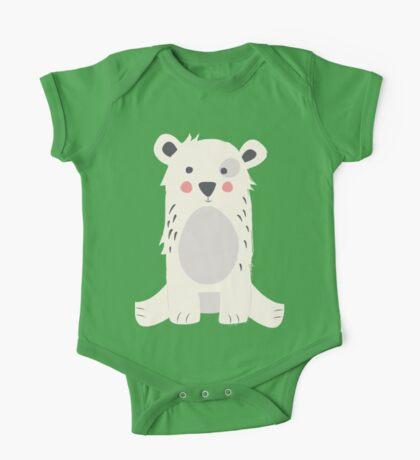 Cute polar bear One Piece - Short Sleeve