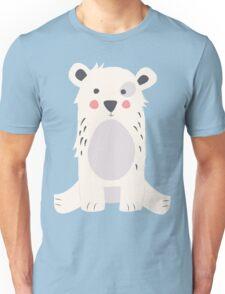 Cute polar bear Unisex T-Shirt