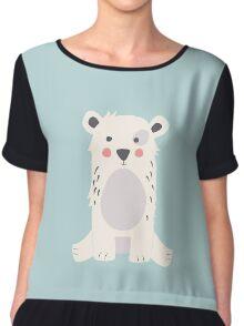 Cute polar bear Chiffon Top