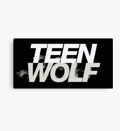 Teen Wolf Logo Canvas Print