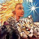 November Protection Goddess by Michelle Potter