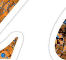 Zeta Greek Alphabet Sticker