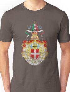Italian Coat of Arms Italy Symbol Unisex T-Shirt