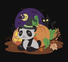 Halloween Panda by SaradaBoru