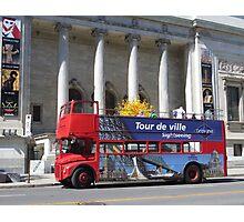 City Tour Photographic Print