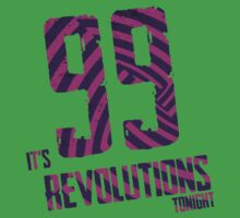 99 Revolutions: Purple, No Logo by Britisaur
