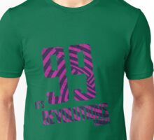 99 Revolutions: Purple, No Logo Unisex T-Shirt