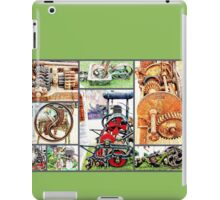 Cogs and Wheels Collage iPad Case/Skin