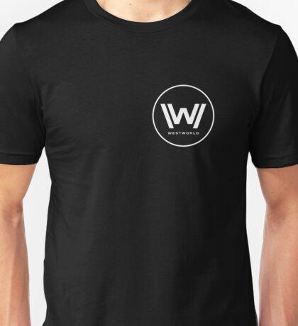 Westworld - Small White Logo Unisex T-Shirt