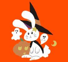 Halloween Witch Bunny by SaradaBoru