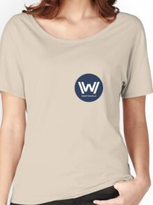 Westworld - Small Blue Logo Women's Relaxed Fit T-Shirt