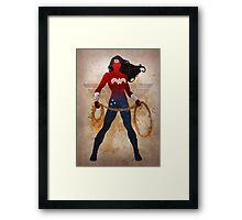 Wonder Woman Framed Print