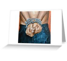 Bound World Greeting Card