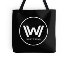 Westworld - Big White Logo Tote Bag