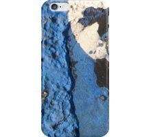 Blue Asphalt 02 iPhone Case/Skin