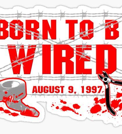 ECW Born To Be Wired 1997  Sticker
