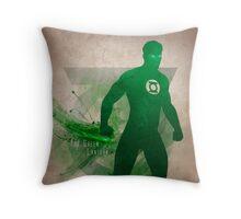 The Green Lantern Throw Pillow