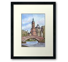 Gapstow Bridge Central Park Framed Print