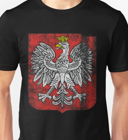 Polish Coat of Arms Poland Symbol Unisex T-Shirt