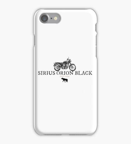 Sirius Orion Black iPhone Case/Skin
