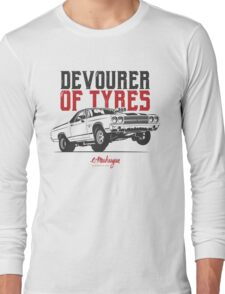 Devourer of tyres. Chevy El Camino SS Long Sleeve T-Shirt