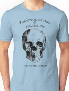 Ink By Mel Dredd Skull Unisex T-Shirt