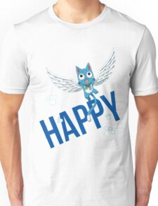 Fairy Tail - Happy Unisex T-Shirt