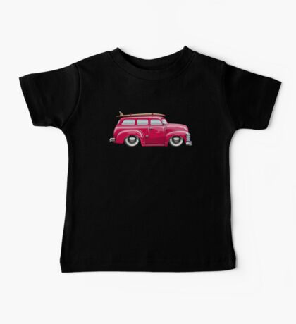 Cartoon retro van Baby Tee