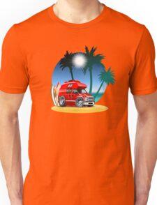 Cartoon Camper Unisex T-Shirt