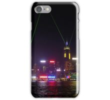 Hong Kong Laser Show iPhone Case/Skin