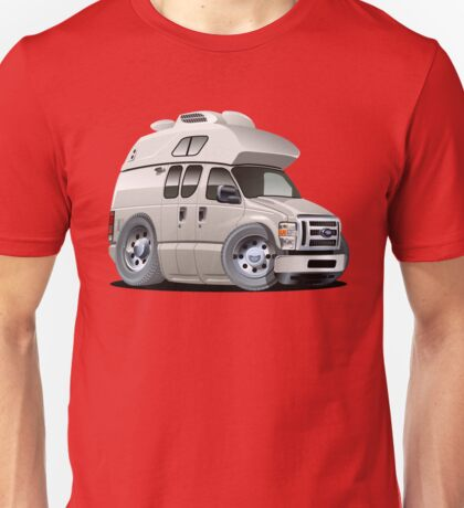 Cartoon Camper Unisex T-Shirt