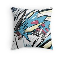 Mega Gyarados   Aqua Tail Throw Pillow