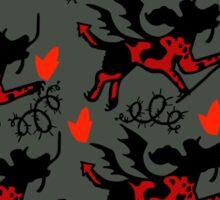 Infernal Flame Sticker