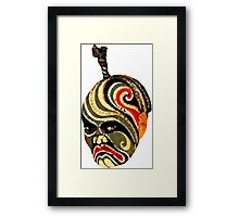 Chinese opera mask Framed Print