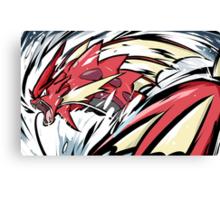 Shiny Mega Gyarados | Aqua Tail Canvas Print