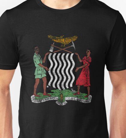 Zambian Coat of Arms Zambia Symbol Unisex T-Shirt