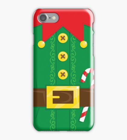 Xmas Elf Belly iPhone Case/Skin