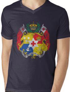 Tongan Coat of Arms Tonga Symbol Mens V-Neck T-Shirt
