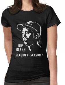 Glenn the walking dead Womens Fitted T-Shirt