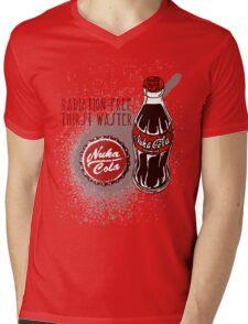 Nuka Cola Fallout Series Mens V-Neck T-Shirt