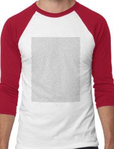 every Twenty One Pilots song/lyric off Self Titled Men's Baseball ¾ T-Shirt