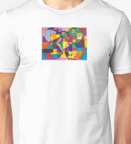 Abstract 1 - Heather  Unisex T-Shirt