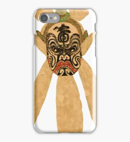 chinese  mask iPhone Case/Skin