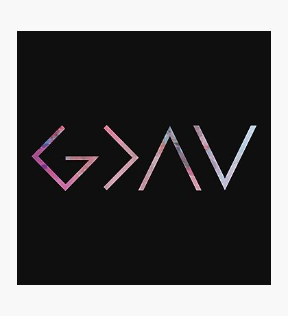 God Is Greater Than the Highs and Lows Photographic Print