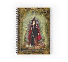 Moon Witch and Dragon ~ Air Spiral Notebook