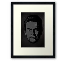 The gRey Series - W Framed Print
