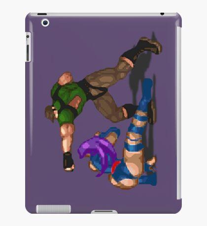 X-Men Mutant Apocalypse: Psylocke vs Genoshan Thug iPad Case/Skin