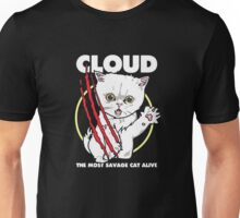 Cloud the most savage cat alive Unisex T-Shirt