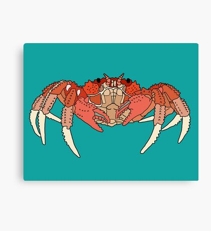 Cool Looking Crab Canvas Print